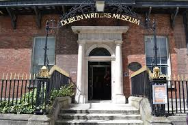 front of dublin writers museum