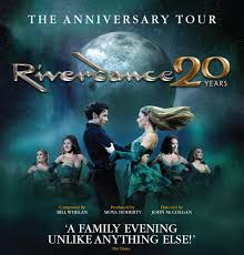 River dance 20 year poster