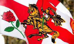st georges day flag